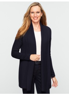 Talbots Cozy Shawl-Collar Cardigan