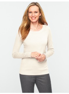 Back-Button Sweater