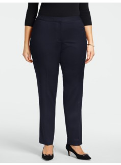 Heritage Italian Flannel Tailored Ankle Pants