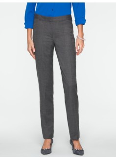 Heritage Italian Flannel Tailored Ankle Pants