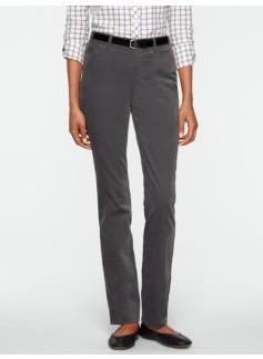 Heritage Slim-Leg Velveteen Pants