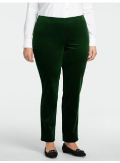 Heritage Velveteen Ankle Pants