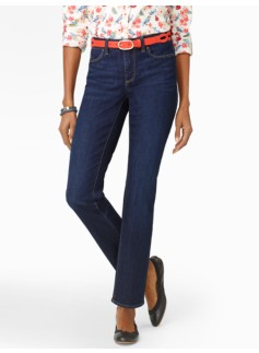 Slimming Curvy Reef Wash Ankle Jeans