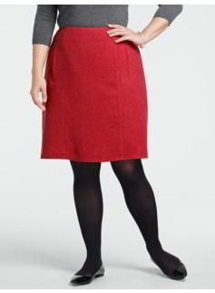 Shetland A-Line Skirt
