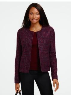 Sangria Tweed Jacket