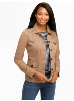 Stretch Twill Jacket