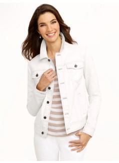 Classic Colored Denim Jacket