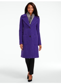 Heavy Boiled Wool Coat