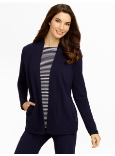 Weekend Terry Flyaway Cardigan