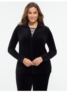 Velour Jacket