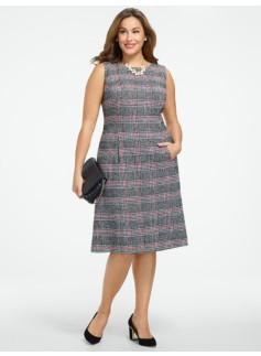 Lenox Plaid Dress