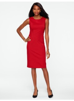 Ponte Jewelneck Dress