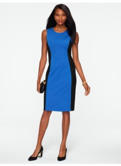 Ponte Colorblocked Dress