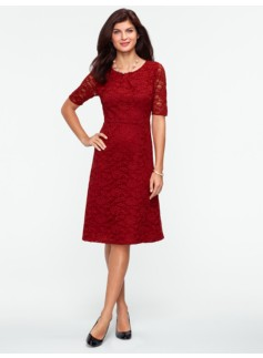 Begonia Lace Dress