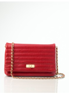 Leather Top-Flap Shoulder Bag