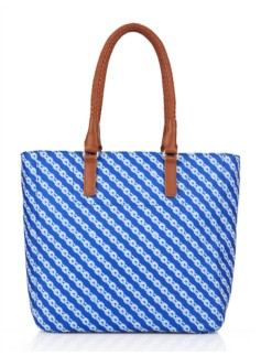 Printed Double-Handle Tote