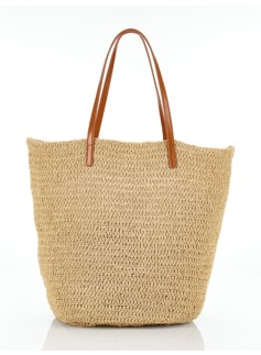 Crushable Straw Tote