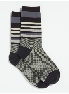 Metallic Stripes Socks