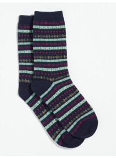 Multi Mini Fair Isle Trouser Socks