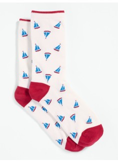 Sailboat Trouser Socks