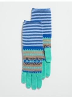 Fair Isle & Stripes Gloves