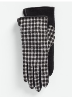 Buffalo Plaid Touch Gloves
