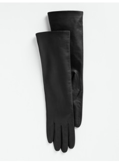 Three-Quarter Length Leather Gloves