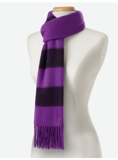 Striped Waterweave Scarf
