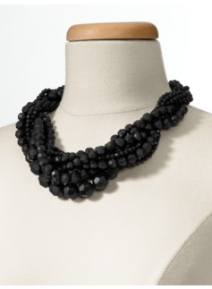 Faceted Bead Torsade