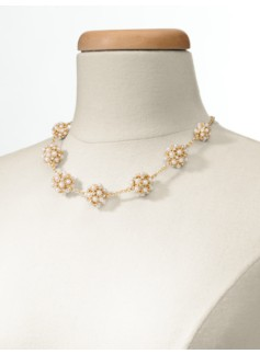 Pav� Fireball Necklace
