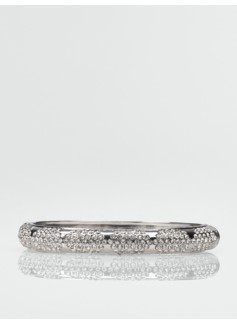 Pav� Honeycomb Bangle