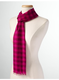 Billie Plaid Scarf