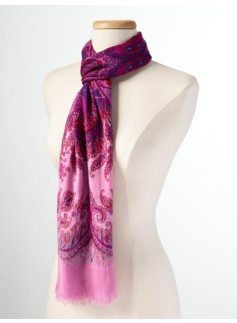 Holiday Paisley Scarf