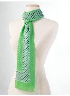 Leaf-Dots Scarf