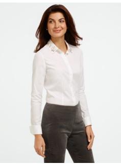 Removable Beaded-Collar Shirt