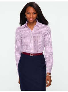 Wrinkle Resistant Linked Circles Shirt