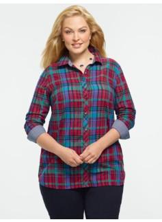 Timaru Plaid Cotton Shirt