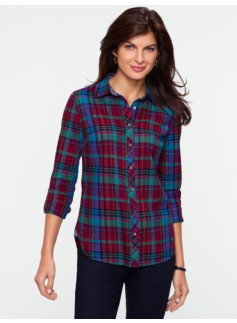 Timaru Plaid Cotton Shirt