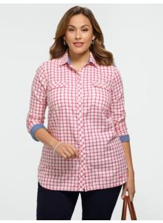 Sparkle Picton Plaid Shirt