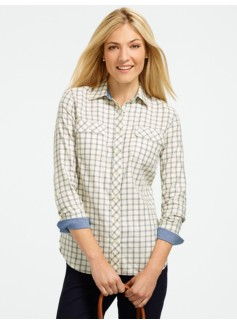 Sparkle Picton Plaid Shirt