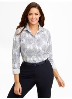 Wrinkle Resistant Paisley Shirt