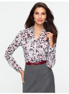Winter Floral Nantucket Shirt