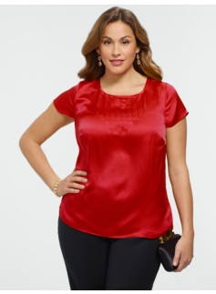 Silk Satin Blouse