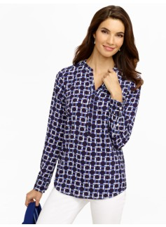 Square-Links Blouse