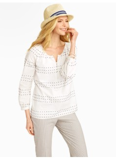 Clipped-Dot Stripes Popover