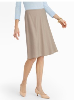Seasonless Wool A-Line Skirt
