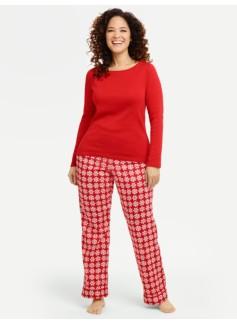 Snowflake Pajama Set
