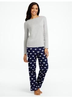 Fluffy Lamb Pajama Set