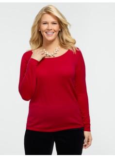 Merino Balletneck Sweater