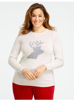 Tinsel Reindeer Sweater